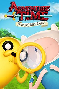 Carátula del juego Adventure Time: Finn and Jake Investigations de Xbox One