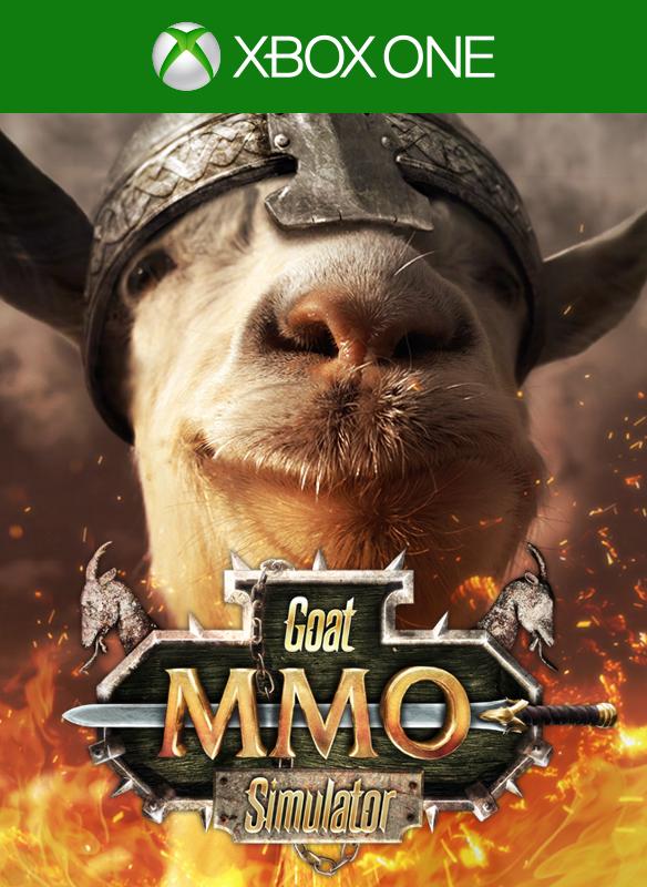 Goat Simulator MMO Sim boxshot