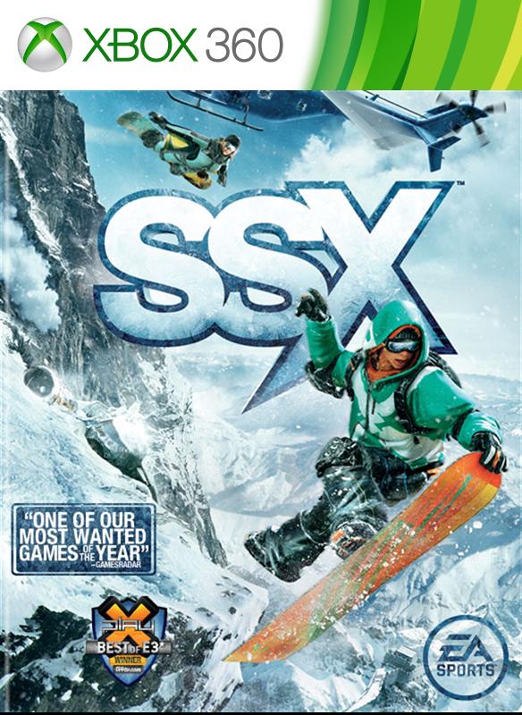 SSX boxshot