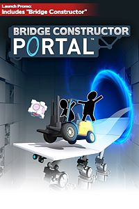 Carátula del juego Bridge Constructor Portal (incl. free Bridge Constructor)