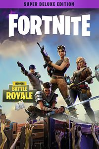 Carátula del juego Fortnite - Super Deluxe Founder's Pack de Xbox One