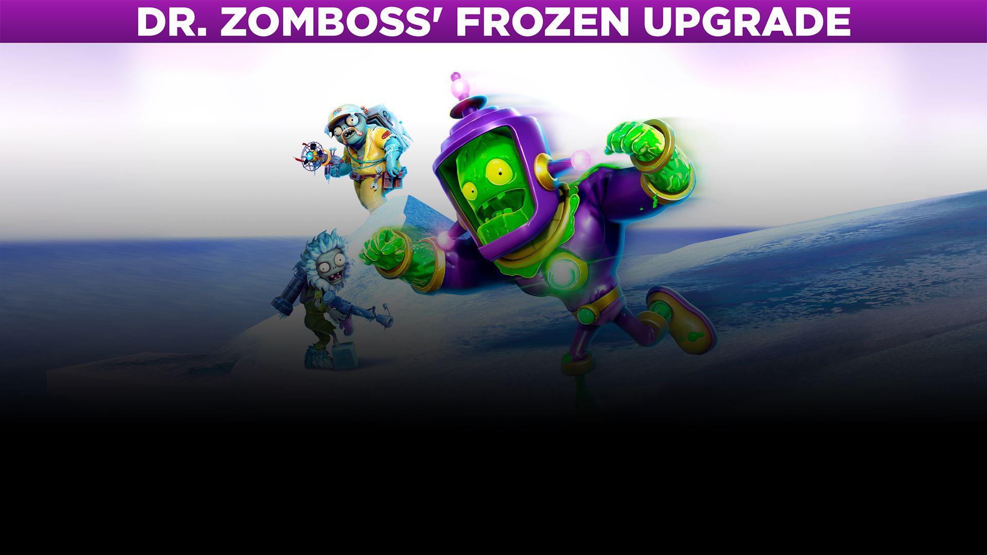 Acheter Plants Vs Zombies Garden Warfare 2 Dr Zomboss Frozen
