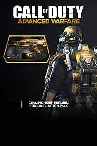 Carátula del juego Championship Premium Personalization Pack de Xbox One