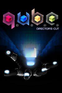Carátula para el juego Q.U.B.E: Director's Cut de Xbox 360