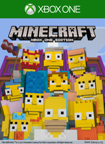 Minecraft The Simpsons Skin Pack