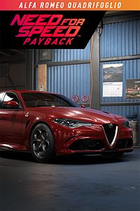 Carátula del juego Need for Speed Payback: Alfa Romeo Quadrifoglio