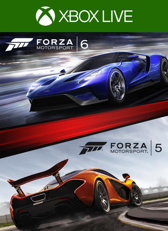 Forza Motorsport 6 / Forza Motorsport 5 GOND Bundle boxshot