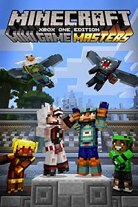 Carátula del juego Minecraft Mini Game Masters Skin Pack de Xbox One