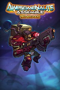 Carátula del juego Ted McPain - Awesomenauts Assemble! Character de Xbox One