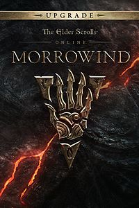 Carátula del juego The Elder Scrolls Online: Morrowind Upgrade