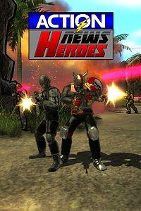 Carátula para el juego Action News Heroes de Xbox 360