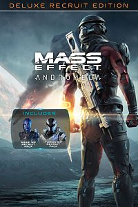 Carátula del juego Mass Effect: Andromeda – Deluxe Recruit Edition para Xbox One
