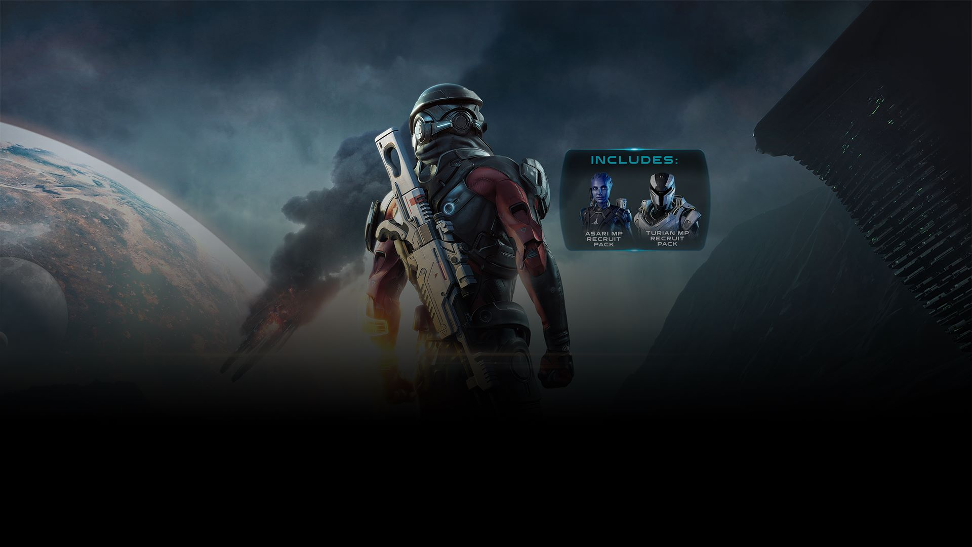 Buy Mass Effect Andromeda Deluxe Recruit Edition Microsoft Store Game Ps4