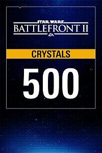 Carátula del juego STAR WARS Battlefront II: 500 Crystals Pack