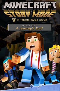 Carátula del juego Minecraft: Story Mode - Episode 8: A Journey's End? de Xbox One