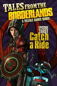 Carátula del juego Tales from the Borderlands - Episode 3: Catch a Ride de Xbox One