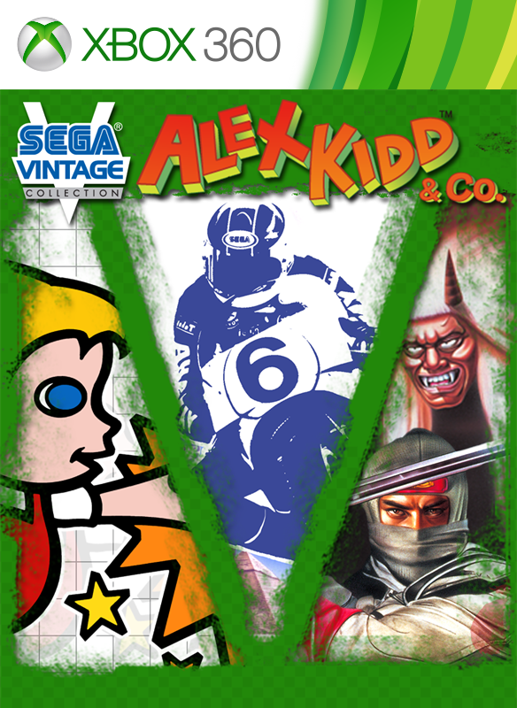 Sega Vintage Collection: Alex Kidd & Co. boxshot