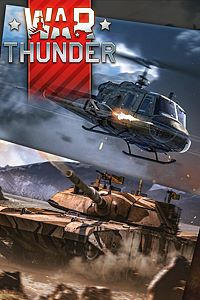 Carátula del juego War Thunder - XM-1 Chrysler and Huey Hog Bundle