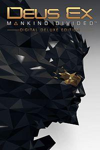 Carátula del juego Deus Ex: Mankind Divided - Digital Deluxe Edition de Xbox One