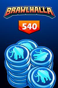 Carátula del juego BRAWLHALLA - 540 MAMMOTH COINS