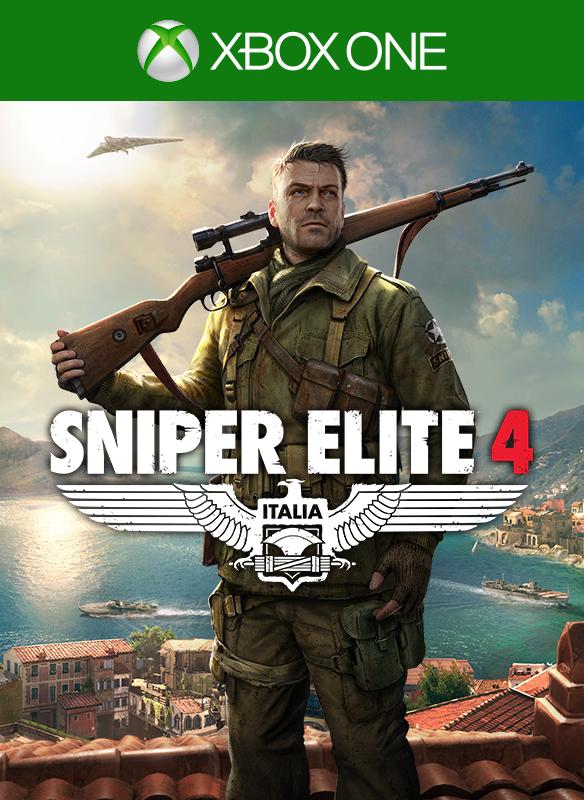 Sniper Elite 4 boxshot