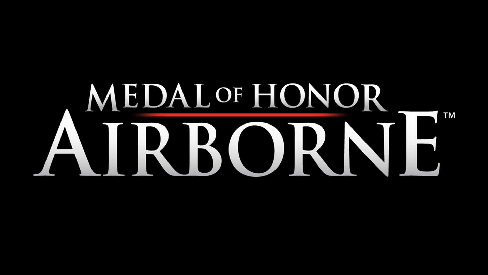 Medal of honor: airborne (2007) playstation 3 box cover art.