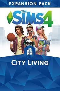 Carátula del juego The Sims 4 City Living