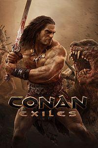 Carátula para el juego Conan Exiles de Xbox One