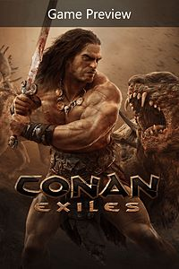 Carátula para el juego Conan Exiles (Game Preview) de Xbox One
