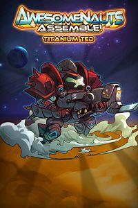 Carátula del juego Titanium Ted - Awesomenauts Assemble! Skin de Xbox One