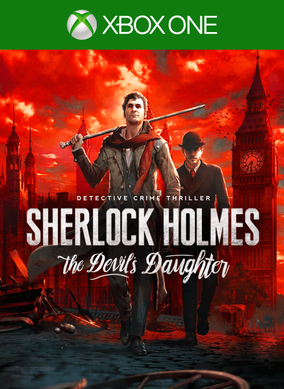 Sherlock Holmes: The Devil's Daughter boxshot