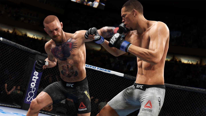 UFC 3d Xbox Screenshot