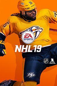 Carátula para el juego EA SPORTS NHL 19 de Xbox 360