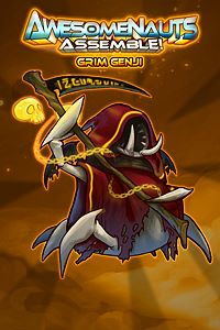 Carátula del juego Grim Genji - Awesomenauts Assemble! Skin de Xbox One