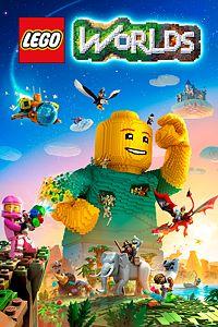 Carátula para el juego LEGO Worlds de Xbox 360