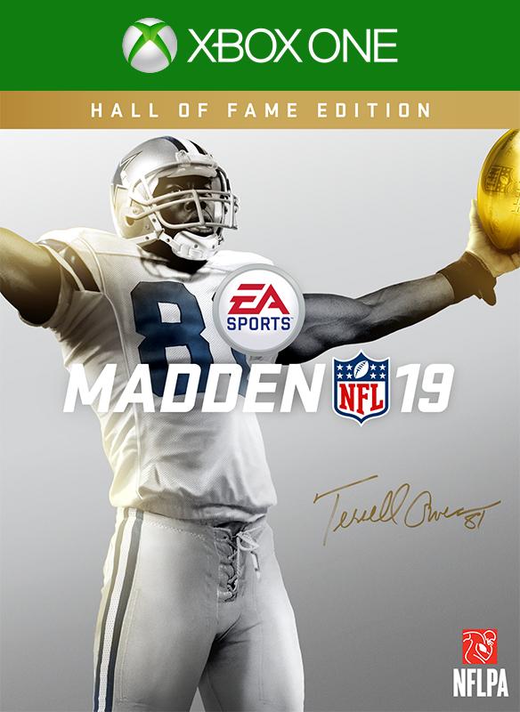 Madden NFL 19: Edición Hall of Fame boxshot
