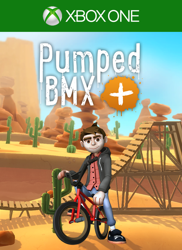 Pumped BMX + boxshot