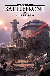 Carátula del juego STAR WARS Battlefront Outer Rim