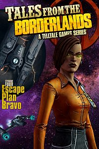 Carátula del juego Tales from the Borderlands - Episode 4: Escape Plan Bravo de Xbox One