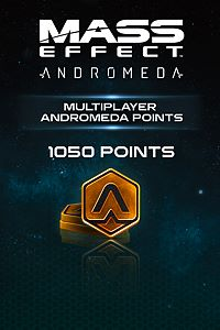 Carátula del juego 1050 Mass Effect: Andromeda Points de Xbox One
