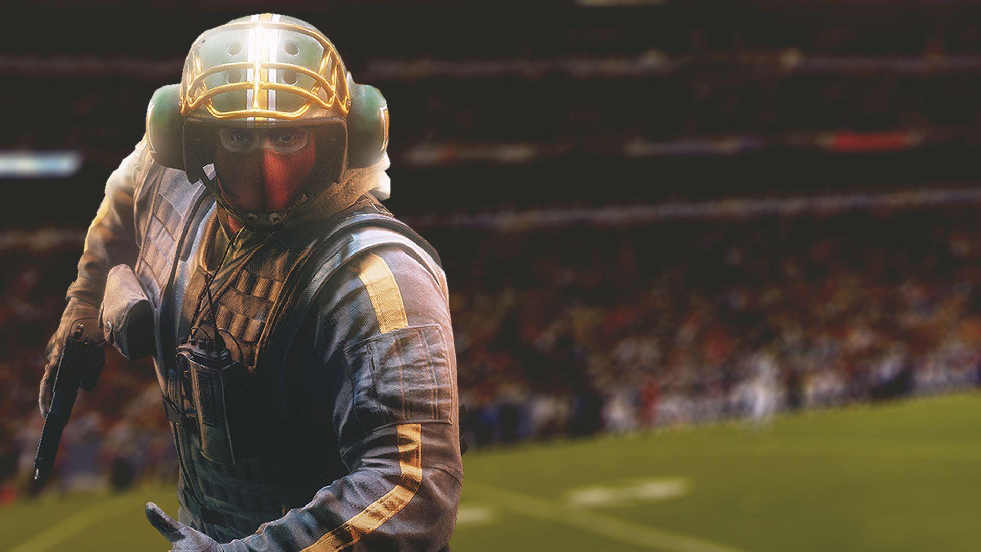 buy tom clancy s rainbow six siege bandit football helmet