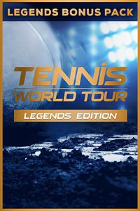 Carátula del juego Tennis World Tour - Legends Bonus Pack