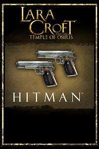 Carátula para el juego Lara Croft and the Temple of Osiris: Hitman Pack de Xbox 360