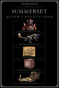 Carátula del juego The Elder Scrolls Online: Summerset Queen's Bounty Pack