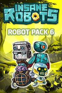 Carátula del juego Insane Robots - Robot Pack 6