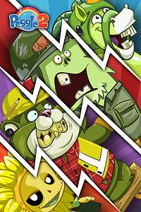 Carátula del juego Peggle 2 - Plants vs. Zombies Garden Warfare Costume Pack