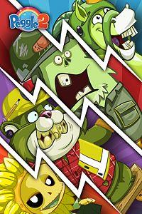 Carátula del juego Peggle 2 - Plants vs. Zombies Garden Warfare Costume Pack de Xbox One