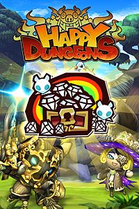 Carátula del juego Happy Dungeons Golden Start Bundle de Xbox One