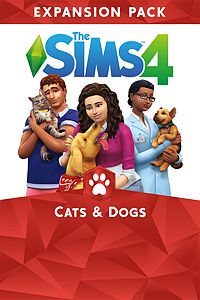 Carátula del juego The Sims 4 Cats & Dogs