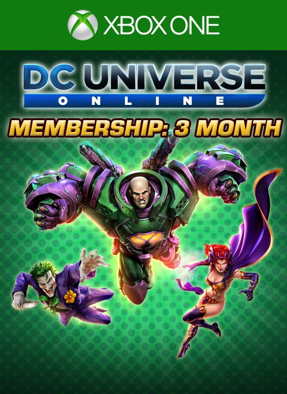 DC Universe™ Online 3-Month Membership boxshot